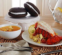 Ships 11/7 Lobster Gram Tails, Bisque & Whoopies Auto-Delivery - M51406