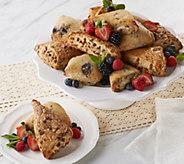 Davids Cookies (16) 4-oz Scone Assortment - M56306