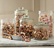 Hampton Popcorn Set of (6) Candy Treat Large Popcorn Tubes - M48407