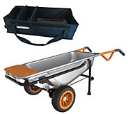 Worx Aerocart 8 in 1 Multi-Purpose Cart with Tub Organizer - M49907