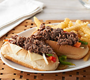 Ships 3/19 Bella Brand (16)4oz Philly Sandwich Steaks Auto-Delivery - M58307