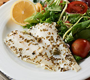 The Perfect Gourmet (12) 3.3-oz Flounder in Sauce - M58607
