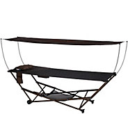Bliss Hammocks EZ Stow Hammock With Built-in Wheels and Storage Bag - M49408