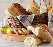 Essential Baking (5) 1 lb. Bake at Home Artisan Bread Sampler - M50308