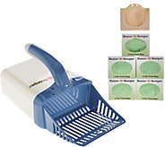 Neater Scooper Cat Litter Scoop & Waste Bin w/ 75 Refill Bags - M50508