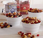 Ships 11/7 Germack 3 Jars of Holiday Favorites Nut Assortment - M51208