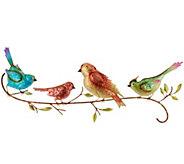 Plow & Hearth Watercolor Birds Wall Art - M55708