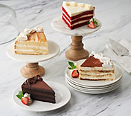 Ships 12/4 Juniors 5 lb Layer Cake Sampler Auto-Delivery - M57408