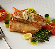 Australis (6) 5 oz. Barramundi Seabass with Flavored Butter - M46909