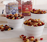 Ships 12/5 Germack 3 Jars of Holiday Favorites Nut Assortment - M51209