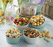 The Popcorn Factory 28 Easter Bags of Gourmet Popcorn - M54209
