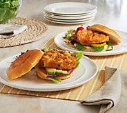 Kaptains Ketch (10) 4 oz. Gourmet Shrimp Burger - M54609