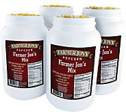 Farmer Jons (4) 1-Gallon Jugs - Popcorn Mix - M116310
