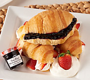 Authentic Gourmet (30) Croissants w/ (30) Preserves Auto-Delivery - M49910