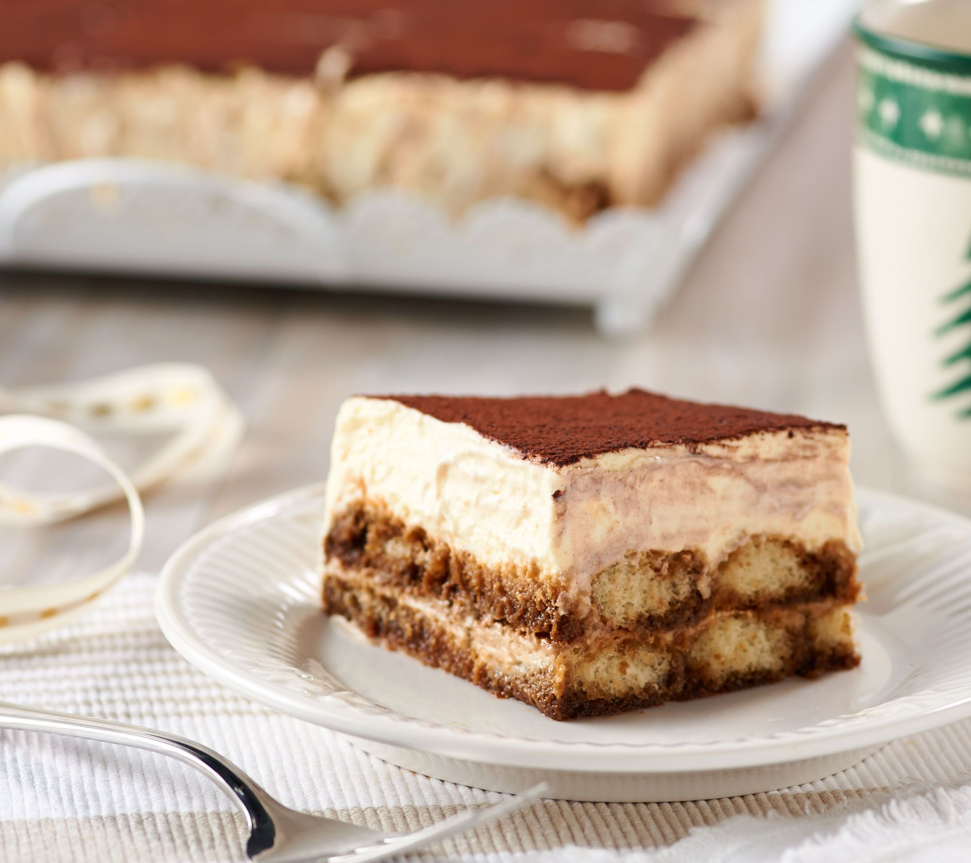 Delizioso Desserts 5 lb Tiramisu Cake Page 1 QVCcom