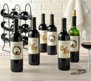 Vintage Wine Estates Holiday 12 Bottle Set - M55010