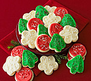 Cheryls Holiday 24 pc Buttercream Frosted Cookies - M114911