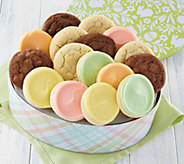 Cheryls Easter Egg Gift Tin with 16 Cookies - M115711