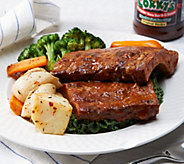 Corkys BBQ (5) 1 lb. Baby Back Ribs with Sauce Auto-Delivery - M52411