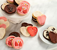 Cheryls 24 Piece Valentines Frosted Cookie Auto-Delivery - M54011