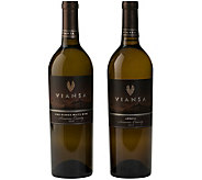 Viansa Winery White 2-Bottle Set by Vintage Wine Estates - M115912