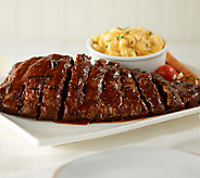 Bubbas Q (4) 18 oz. Deboned Baby Back Rib Steaks in Sauce - M48412