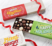 Harry London 3-pc Holiday Greeting Chocolate Assortment - M56912