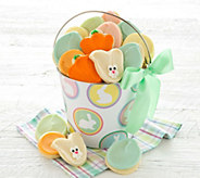 Cheryls Easter Buttercream Pail with 16 Cookies - M115713