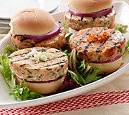 Graham & Rollins (10) 3.5 oz. Salmon Burgers - M47913