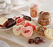 Cheryls 72-piece Valentines Day Bakery Sampler - M50213
