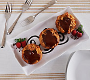 Ships 12/5 Keroler Bakery (8) 4.5 oz. Chocolate Pudding Pastry - M51313