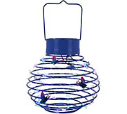 Plow & Hearth Solar Hanging Decorative Spring Lantern - M52113