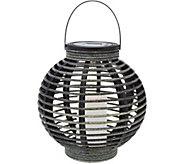 Candle Impressions 9 Decorative Solar Basket Lantern - M52913