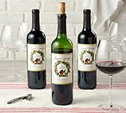 SH 12/4 Vintage Wine Estates Holiday 3 Bottle Set - M55113