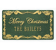 Merry Christmas Personalized Sign - M104514