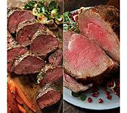 KC Steak 4-4.5lb Prime Rib Roast and 32oz Tenderloin Roast - M107814