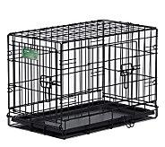 Pet Home I-Crate Double Door 24-inch Dog Crate - M109514
