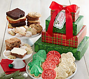 Ships 10/31 Cheryls Holiday Plaid Bakery Tower - M115314