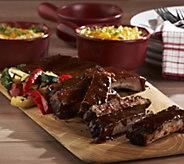 Corkys BBQ (5) 1 lb. Rib Racks & 2 lb. Twice Baked Potato Casserole - M42014