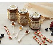 Vintage Bee (3) 8oz Holiday Creamed Honey & (8) Bonus Minis - M48214