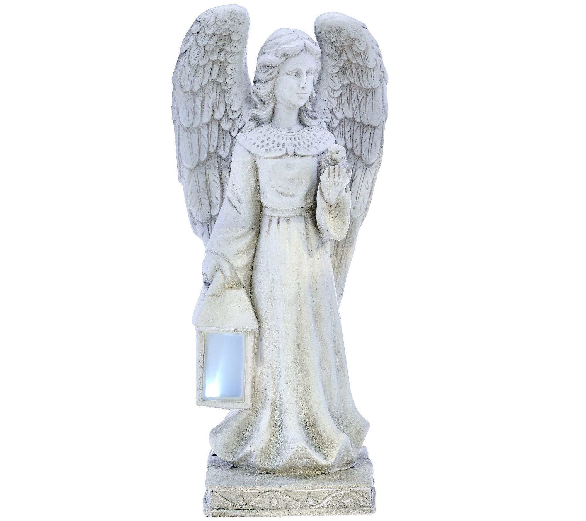 Solar garden angel statue page 1 - Angel statue for garden ...