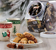 DiBella Famiglia (48) ct Mini Biscotti in Clear Dispenser - M55114