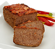 Mama Mancinis (4) 1 lb. Bacon Parmesan Meatloaf& Sauce Auto-Delivery - M55314