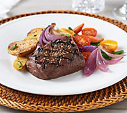 SH 12/4 Rastelli Market Fresh (8) 6 oz. Black Angus Filet Mignon - M55414