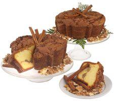 "My Grandma's (2) 8"" Cinnamon Walnut Coffee Cakes"