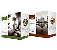 Wissotzky Tea Joyces Journey 2 Gift Boxes w/36Silken Bags - M114015