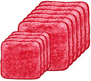 Set of 10 Fur Microfiber Towels by Campanelli - M114715