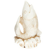 Bernini Fountain Finial Koi Fish Topper - M47015