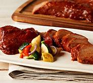 Corkys BBQ (4) 1.25lb Hickory Smoked BBQ Pork Tenderloins - M49315