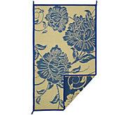 Barbara King Floral Dance 5x8 Reversible Outdoor Mat - M51715